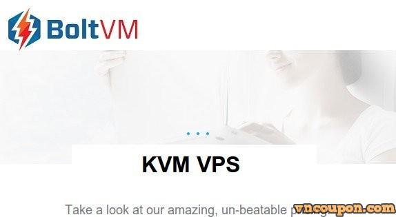BoltVM – 优惠30% KVM VPS + 免费DDOS防护 in 4 US位置