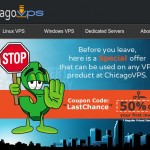 ChicagoVPS – 特价机 OpenVZ & KVM VPS from $1 USD每月 for 512MB内存– 2GB内存Windows VPS 仅 $6每月