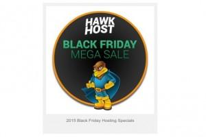 [黑色星期五 2015] Hawk Host Mega Sale – 最高优惠75% 虚拟主机