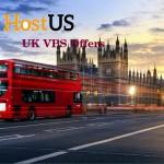 HostUS – 768MB 内存 $17每年 – 2GB 内存 $48每年 UK VPS 特价机 提供 – 10Gbps Network