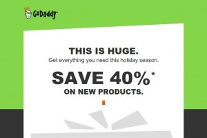 Godady Holiday Huge折扣 – 节省 优惠40% on new products