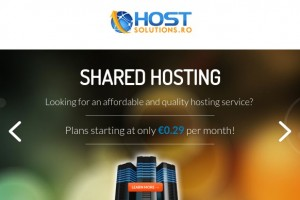HostSolutions.ro – Cheap Offshore 虚拟主机 in Romania 最低 $10每年 – DMCA Free