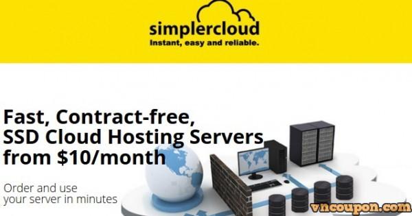 SimplerCloud – 优惠50% 1GB内存KVM SSD VPS 仅 $5每月 in Singapore