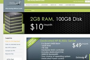 Delimiter – OpenVZ Storage VPS starting at $7 USD per month & Double 硬盘容量 优惠码