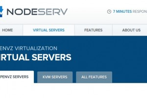 [Flash Sales] NodeServ – 特价机 OpenVZ VPS 512MB RAM/ 100GB HDD/ $13 USD 每年