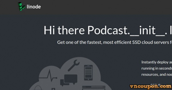 Podcast – get $20 Linode Credit toward your first bill!