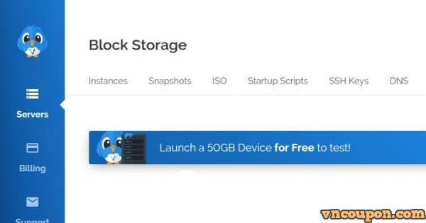 Vultr Block Storage – Launch a 50GB Storage Instance for Free!