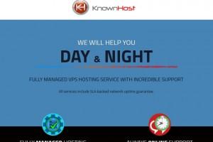 KnownHost – Best Managed VPS – 15% Lifetime折扣