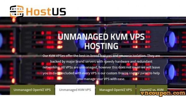 HostUS KVM VPS Relaunch in伦敦, UK – 优惠券 Code Inside!