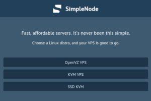 SimpleNode – 特价机 OpenVZ & KVM VPS 最低 $30每年