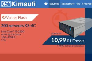 Kimsufi KS-4C – Limited 独服 仅 €10.99每月 – Core i5 CPU/ 16GB 内存/ 2 TB Disk