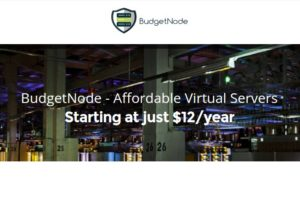 BudgetNode – 特价机 OpenVZ VPS 最低 $12每年 – DDoS防护 – Double 内存 &流量 for Cyber Week