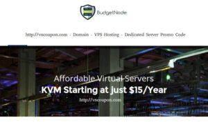 BudgetNode – 特价机 KVM VPS in Netherlands 最低 $15每年