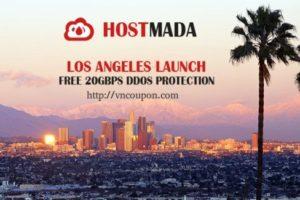 HostMada – OpenVZ VPS 最低 $2每月 in 洛杉矶 – 免费DDos防护