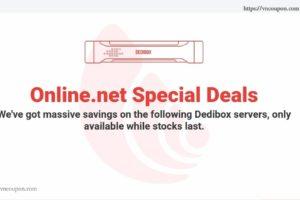 [黑色星期五 2018] Online.net Server Specials Offer – 最高40%折扣 on 独服