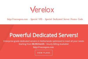 Verelox – 特价机 独服 from €8.99每月