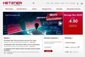 Hetzner vServer starting at €3.9每月 in Germany