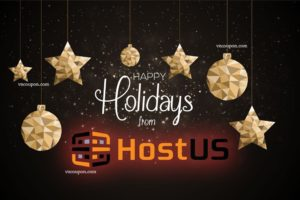 [Xmas 2016] Happy Holidays From HostUS – $25每年 2GB 内存 OpenVZ or 180GB KVM Storage – Comodo PositiveSSL 仅 $4.99每年