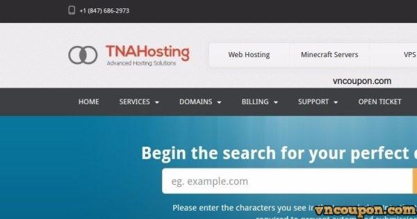 TNAHosting 特价机 Offer – 6GB OpenVZ & 4GB KVM VPS 仅 $5每月