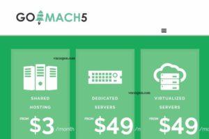 [XMAS 2016] Go Mach 5 – 优惠50% KVM VPS 最低 $5每月
