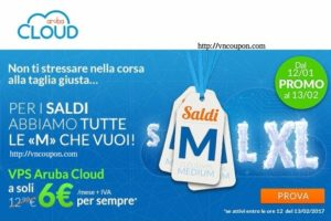 ArubaCloud – 优惠50% VMware Cloud VPS – 2 GB内存VPS 仅 €6 per month
