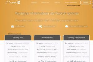 Webh.pl – 特价机 1GB 内存 KVM VPS in Poland 仅 $35每年
