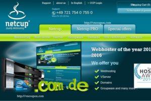 Netcup.de 提供 33%折扣 on the Root Server, vServer & Storage Server
