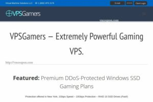 VPSGames – Extremely Powerful Gaming VPS 最低 $15每月