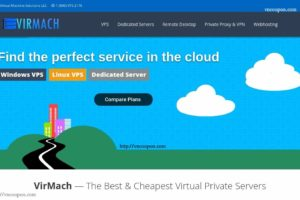 [New Year 2019] VirMach –  年付 钜惠 SSD VPS 最低 $3每年 – 免费Windows on KVM VPS