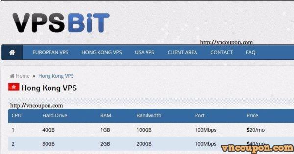 VPSBit.com – 350GB 硬盘容量 香港 特价机 VPS 仅 $7每月