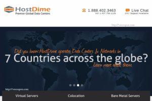 HostDime 优惠券 – 优惠15% Managed 独服 & Managed 云服务器