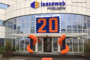 LeaseWeb celebrating 20 years anniversary – 最高优惠45% 独服 & VPS