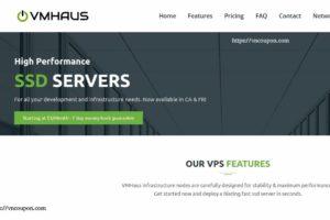 VMHaus – NVMe KVM VPS Promo 最低 $15每年