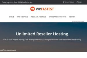WPfastest – 特价机 无限 分销型虚拟主机 最低 $8每年 – 优惠5% for Master 分销型虚拟主机