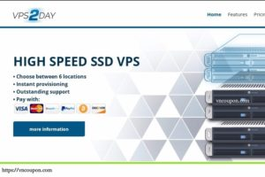 VPS2day – 1GB内存KVM VPS 仅 4.99€每月 – Multiple Location in 美国, EU