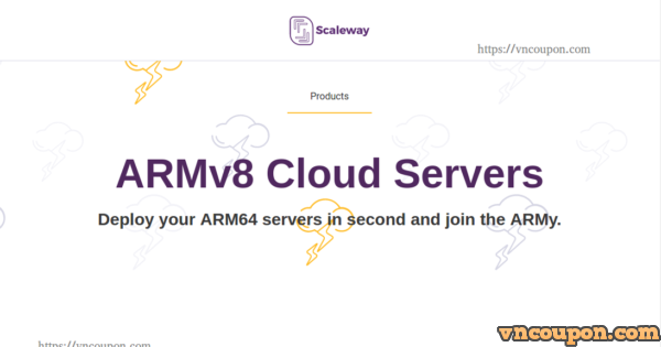 Scaleway introducing New ARMv8 High Core Variants