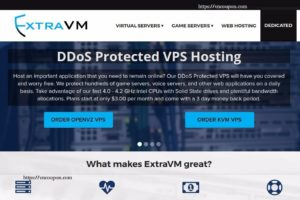 ExtraVM – NVMe KVM VPS 最低 $3每月 – DDoS防护 – Singapore Location – KVM Game Plans