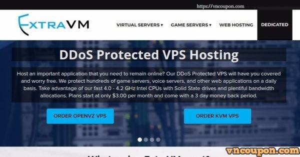 ExtraVM – NVMe KVM VPS 最低 $3每月 – DDoS防护 – Singapore Location – 优惠50% NVMe VPS