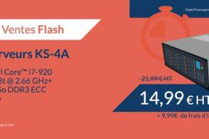Kimsufi KS-4A – 特价机 独服 仅 €14.99每月 – Core i7-920/ 16 GB RAM/ 2 TB Hard Disk