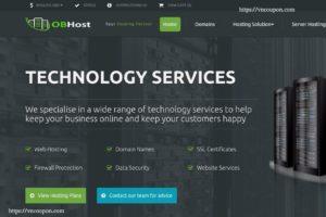 OBHost 优惠码 –  DDoS防护 OpenVZ VPS 最低 $1.25每月 (优惠50%)
