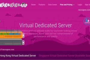 GigsGigsCloud introduce Virtual 独服 (VDS) in 香港