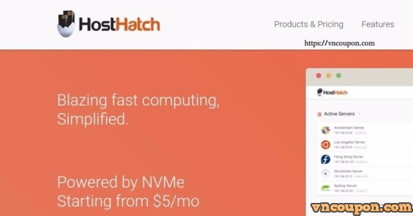HostHatch Introducing NVMe based SSD VPS – Dedicated CPU 最低 $15 每年 – Celebrating 8 years in business