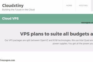 Cloudxtiny – 廉价VPS 3.00英镑每年, 1TB HDD KVM VPS 5英镑每月