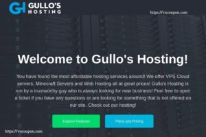 Gullo's Hosting – $2每年 NAT + IPv6 VPS Offers