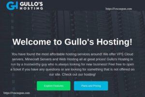 Gullo's Hosting – $2每年 NAT + IPv6 VPS Offers