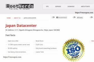 RootNerds –日本 VPS Exclusive Offer 仅 €5.49每月