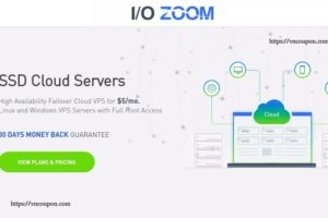 IO Zoom – 1 GB 内存 Cloud VPS 仅 $5每月 – High Availability、Automatic Failover