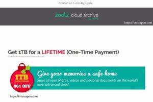 Zoolz – Get 1TB Cloud Storage for a LIFETIME (优惠96%)