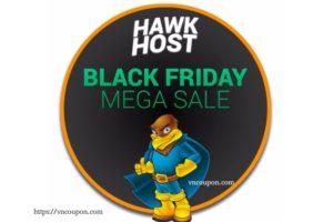 [黑色星期五 2018 ] Hawk Host Hosting折扣! Save 最高70%!