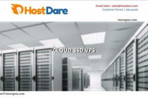 HostDare – 75% 一次性折扣 – 1GB内存VPS 仅 $0.5每月